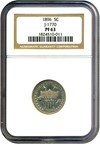 Image of Pattern: 1896 5c NGC Proof 63 (Judd-1770)