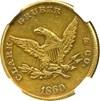 Image of 1860 Clark Gruber $10 NGC AU55 (Pikes Peak)