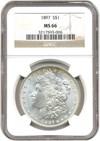 Image of 1897 $1 NGC MS66