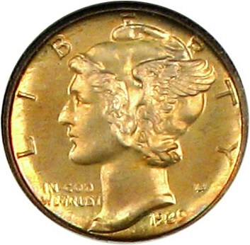 Image of 1939 10c NGC Proof 67