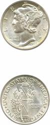 Image of 1928-D 10c PCGS MS64 FB