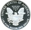 Image of 2007-W $1 NGC Proof 70 UCameo (Silver Eagle)