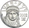 Image of 2002-W $100 PCGS Proof 70 DCameo (Platinum Eagle)