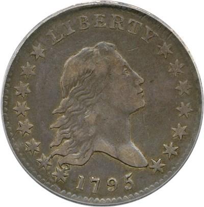 Image of 1795 50c PCGS VF30