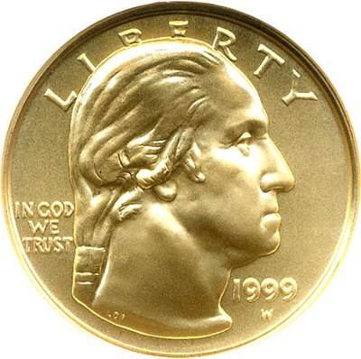 Image of 1999-W $5 NGC MS70 (Washington)
