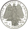 Image of 2008-W $100 NGC Proof 70UCameo (Platinum Eagle)