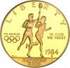 Image of 1984-S $10 NGC Proof 70 UCameo (Olympic)