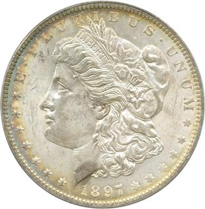 Image of 1897-O $1 PCGS MS62