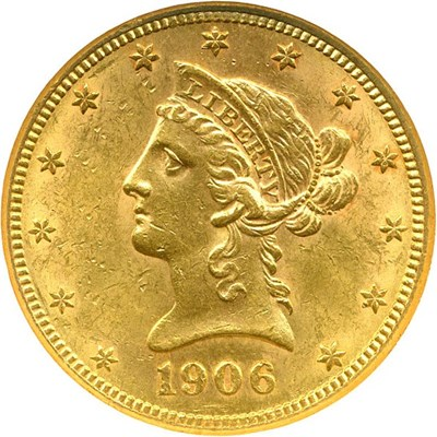 Image of 1906-S $10 NGC MS61