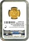 Image of 1854 $5 NGC Unc Details (Reverse Scratched)