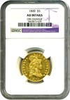 Image of 1800 $5 NGC AU Details (Obverse Damage)
