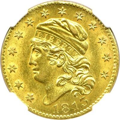 Image of 1813 $5 NGC MS62