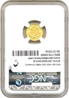 Image of 1873 G$1 NGC/CAC MS62 (Closed 3)