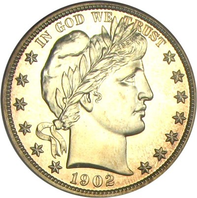 Image of 1902 50c NGC Proof 65