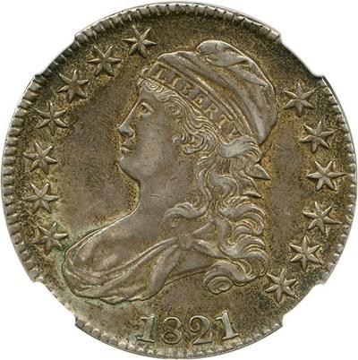Image of 1821 50c NGC XF45