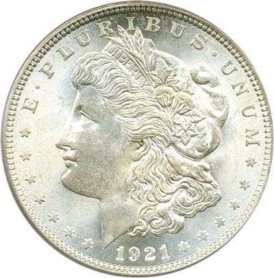Image of 1921 $1 PCGS MS63 (Morgan)