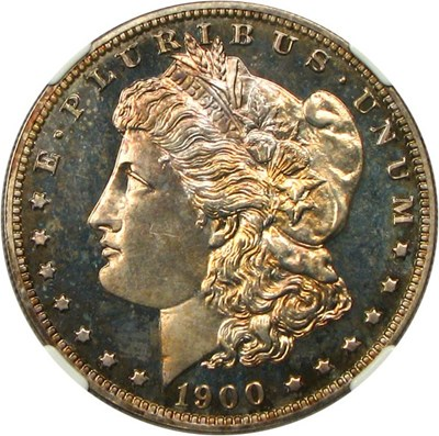 Image of 1900 $1 NGC/CAC Proof 64 Cameo