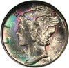 Image of 1945-S 10c NGC/CAC MS66 (Micro S) * Color *