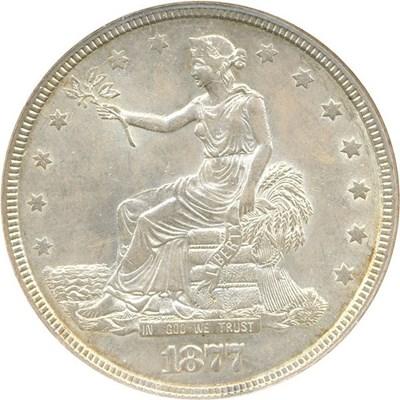 Image of 1877 Trade$ NGC MS62