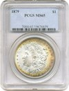 Image of 1879 $1 PCGS MS65