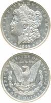 Image of 1896-O $1 NGC/CAC AU58 PL