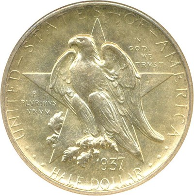 Image of 1937-S Texas 50c NGC/CAC MS66