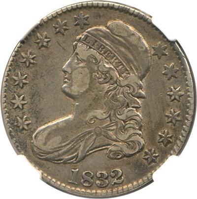 Image of 1832 50c NGC XF40