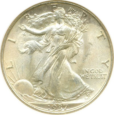 Image of 1937 50c NGC/CAC MS65
