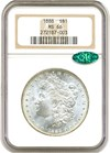 Image of 1888 $1 NGC/CAC MS66