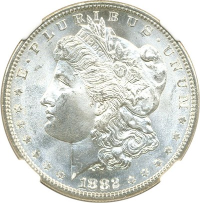 Image of 1882-S $1 NGC MS67