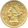 Image of 1873-S $2 1/2 PCGS AU50