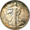 Image of 1927-S 50c PCGS/CAC MS64 * Color *