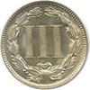 Image of 1868 3cN PCGS/CAC MS64