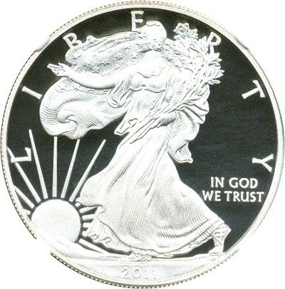Image of 2011-W $1 NGC Proof 70 UCameo (Silver Eagle, Early Releases)