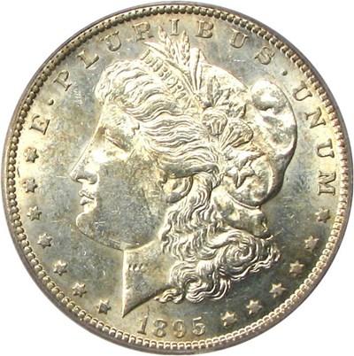 Image of Hot 50 VAM: 1895-S $1 PCGS AU58 (VAM 3, S/S)