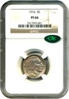 Image of 1916 5c NGC/CAC Proof 66