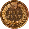 Image of 1904 1c PCGS/CAC Proof 64 RB