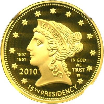 Image of 2010-W $10 NGC Proof 69 UCameo (Buchanan's Liberty)