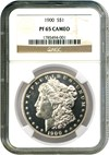 Image of 1900 $1 NGC Proof 65 Cameo