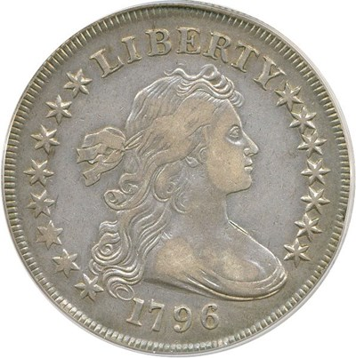 Image of 1796 $1 PCGS VF35