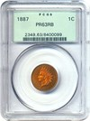 Image of 1887 1c PCGS Proof 63 RB OGH