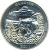 Image of 2011 25c PCGS MS69 DMPL (Glacier, First Strike)