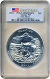 Image of 2011 25c PCGS MS69 DMPL (Glacier, First Strike)