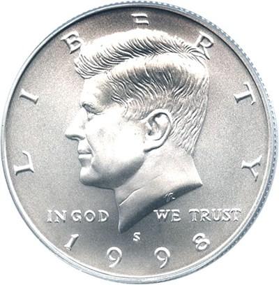 Image of 1998-S 50c PCGS MS69 (Special Mint Set)