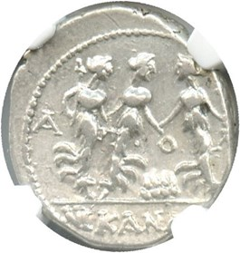 Image of 1st Century BC Drachm NGC Ch VF * Star * (Ancient Greek) Strike:5/5; Surface 5/5