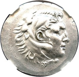 Image of 188-167 BC Alabanda AR Tetradrachm NGC AU (Ancient Greek) Strike:5/5; Surface 3/5