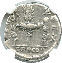 Image of AD 193-211 Sept. Severus AR Denarius NGC Ch VF (Ancient Roman) Strike:4/5; Surface 4/5