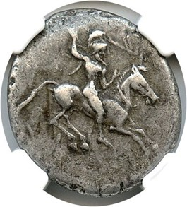 Image of 490-475 BC AR Didrachm (490-475 BC) NGC Ch VF - Star - (Ancient Greek) Strike:5/5; Surface 4/5