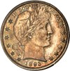 Image of 1893 50c PCGS/CAC MS65 - Colorful Toning - No Reserve!