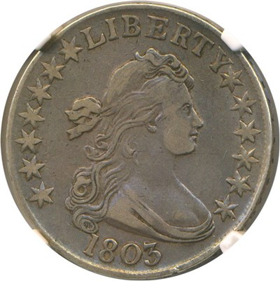 Image of 1803 50c NGC VF35